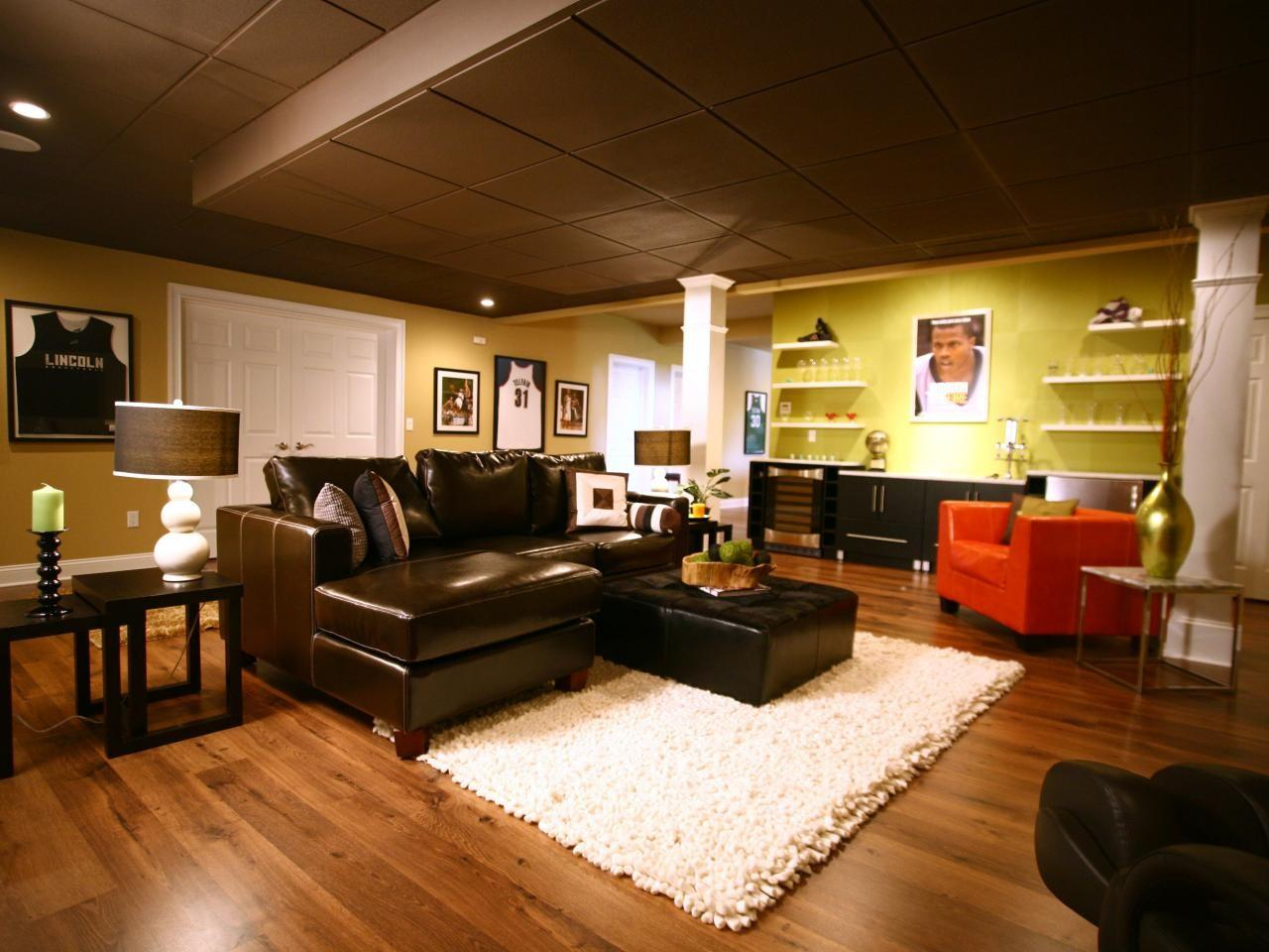 Basement Design Ideas Decorating