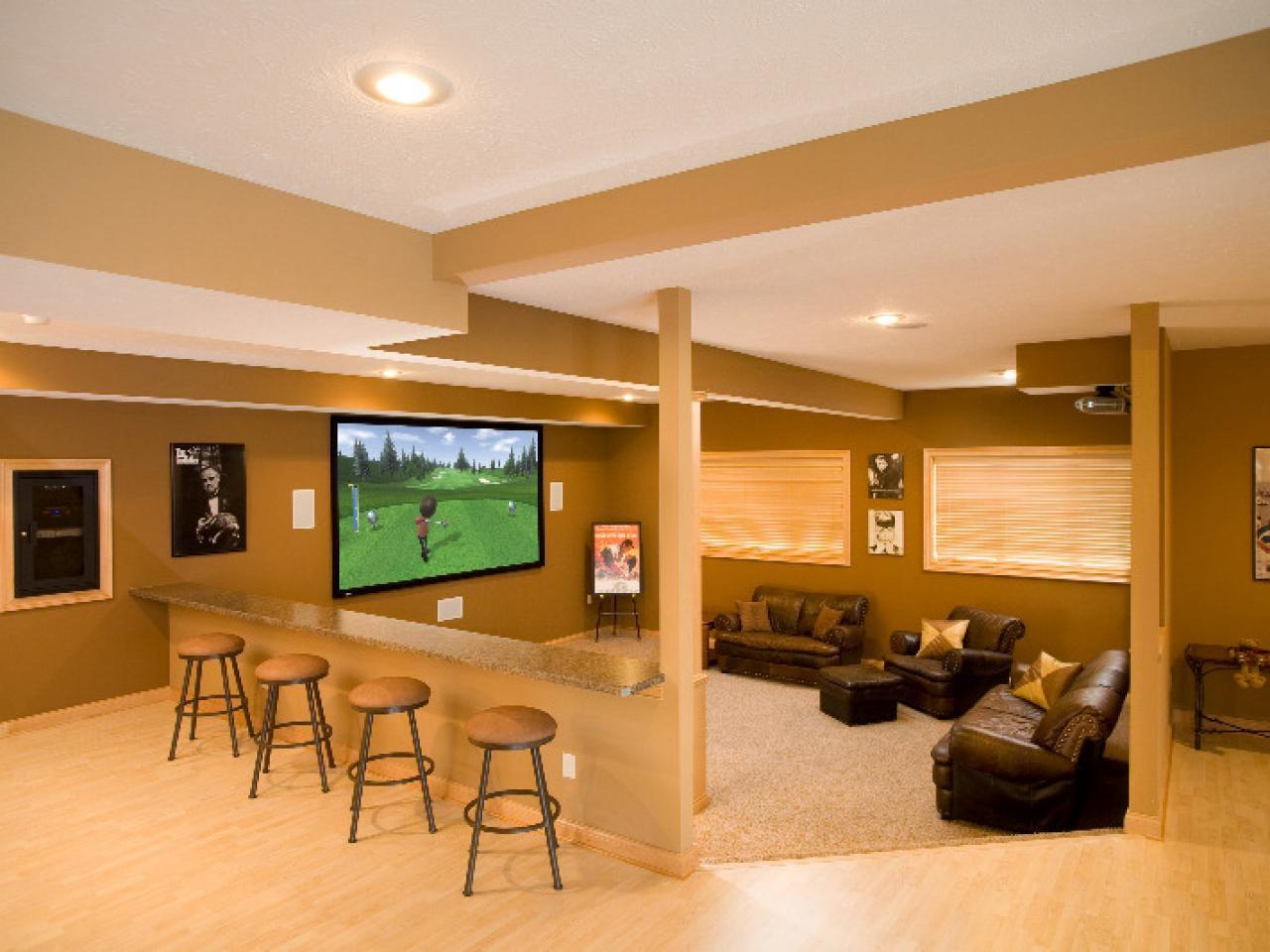 Basement Home Theaters Media Rooms Tips