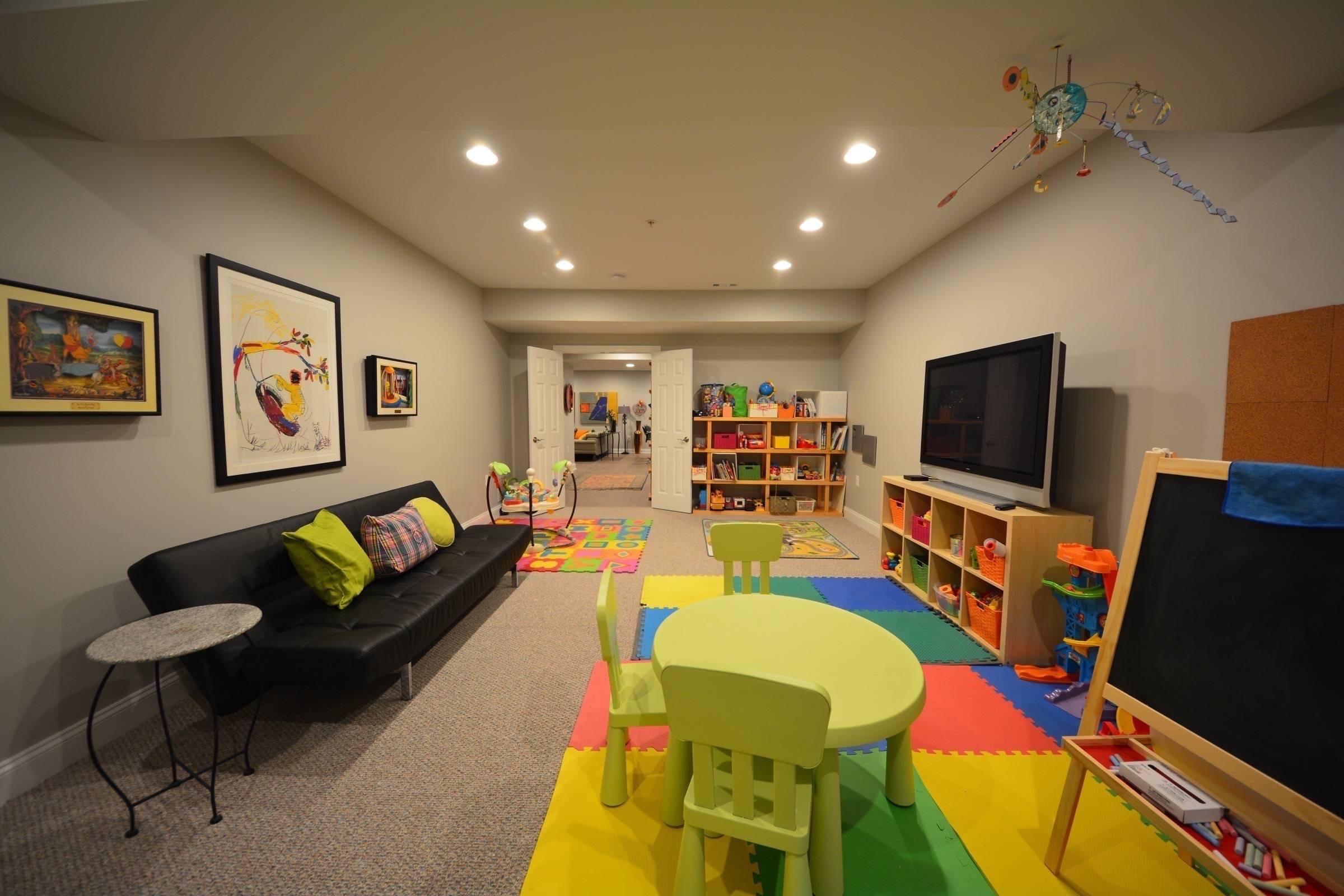 Basement Kids Playroom Ideas Masters