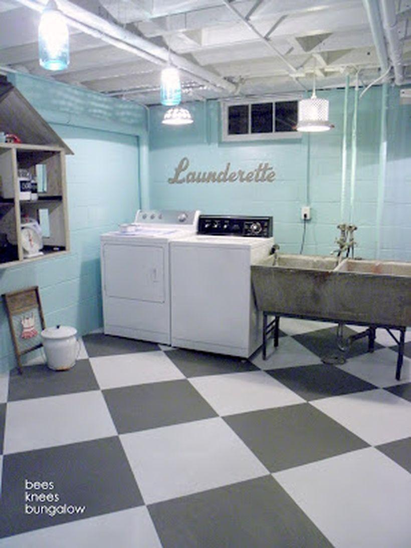 Basement Laundry Room Design Remodel Makeover Ideas