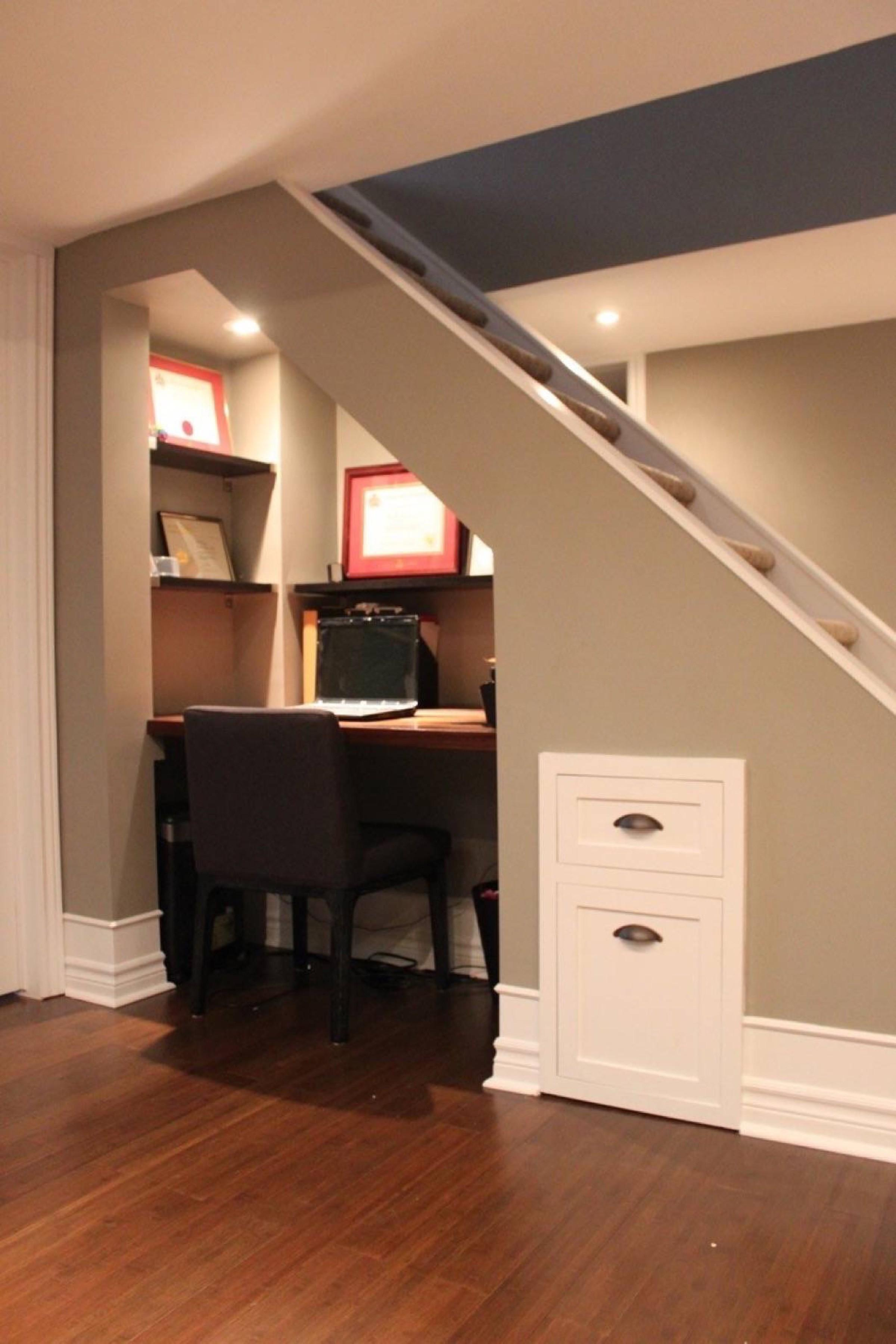 Basement Under Stairs Space Ideas Masters
