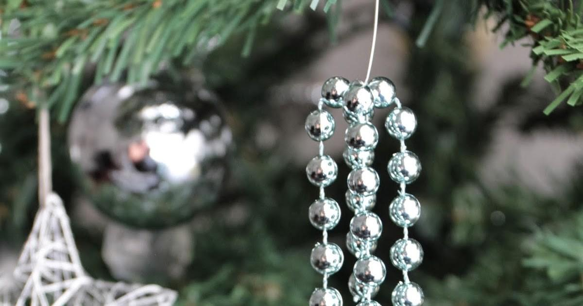 Basil Chaise Diy Christmas Beaded Ornaments