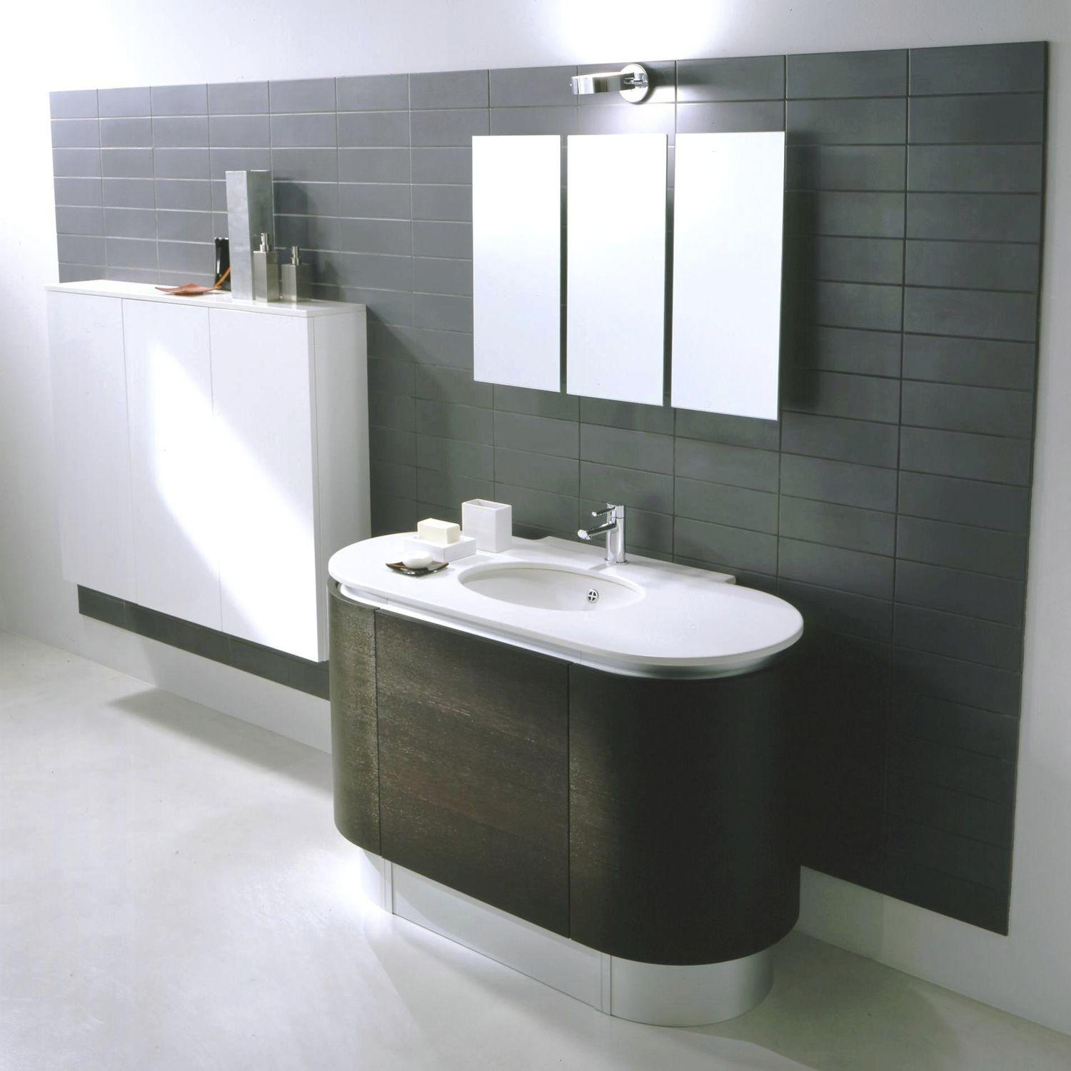 Bathroom Design Double Washbasin Floating Vanity