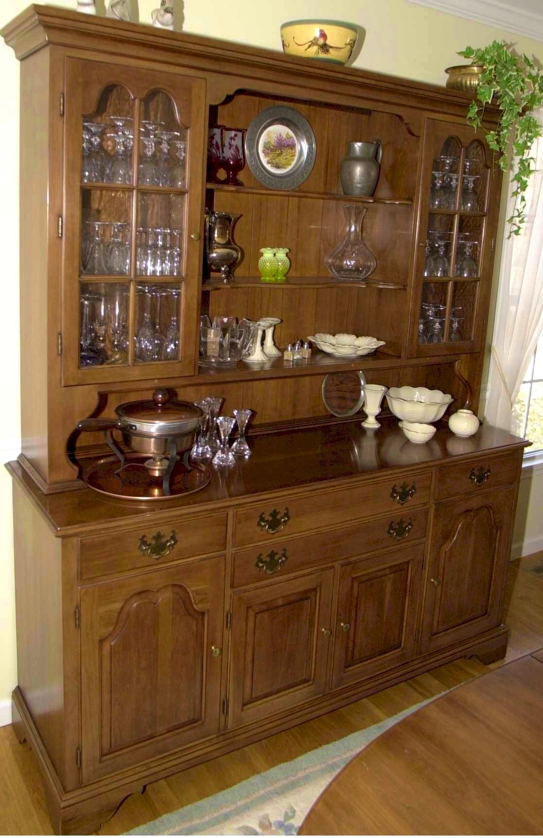 Bathroom Fascinating Charming Dining Room Hutch Home