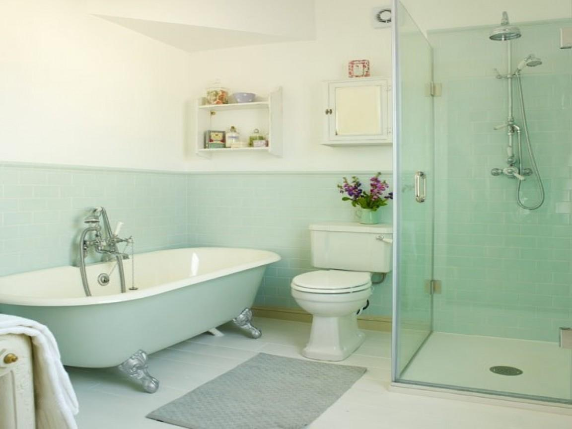 Bathroom Green Seafoam Ideas Mint