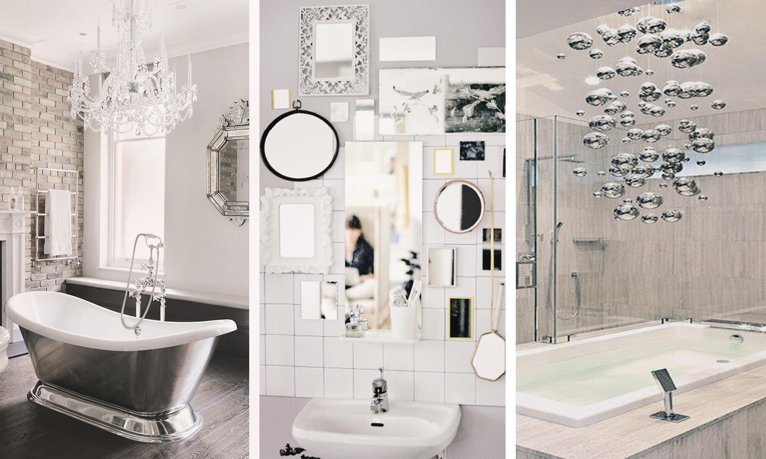 Bathroom Inspiration Glitz Glam Eclectic Home