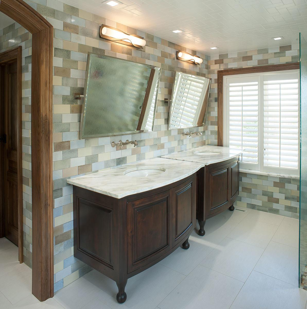 Bathroom Laundry Hers Small Remodel