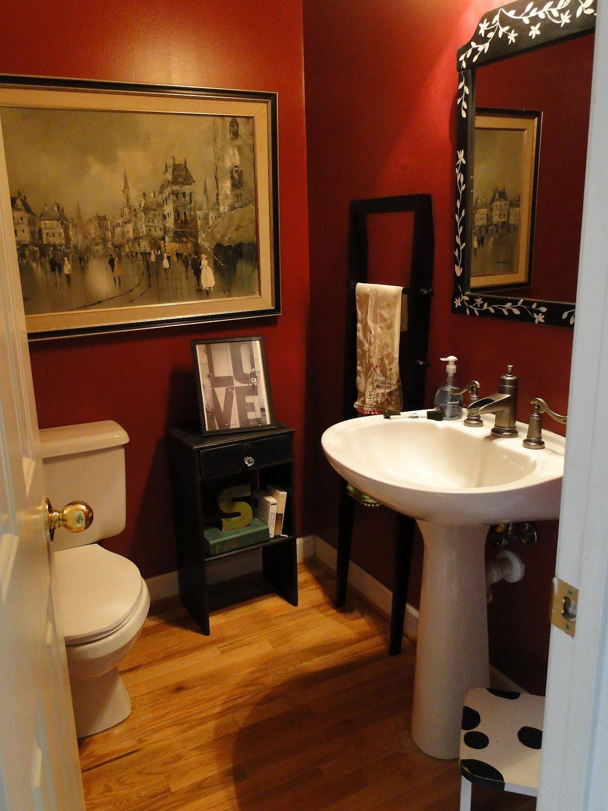 Bathroom Makeovers Tight Budget Diy Makeover Red