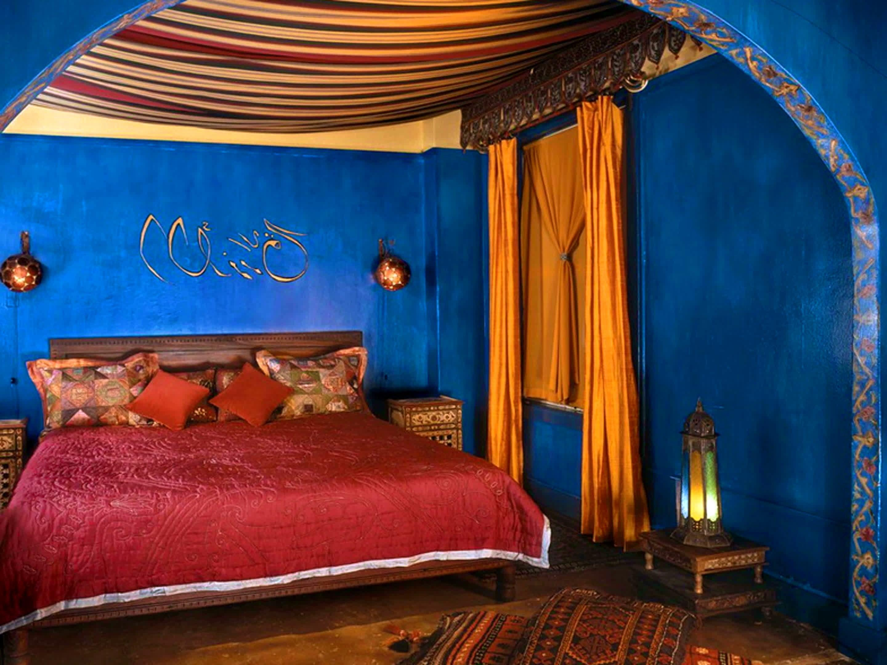 Bathroom Moroccan Style Bedroom Decorati