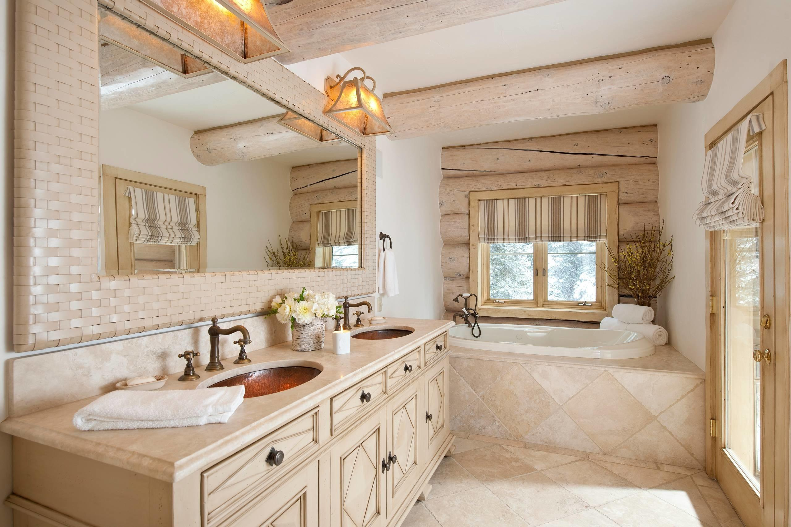 Bathroom Outstanding Rustic Designs