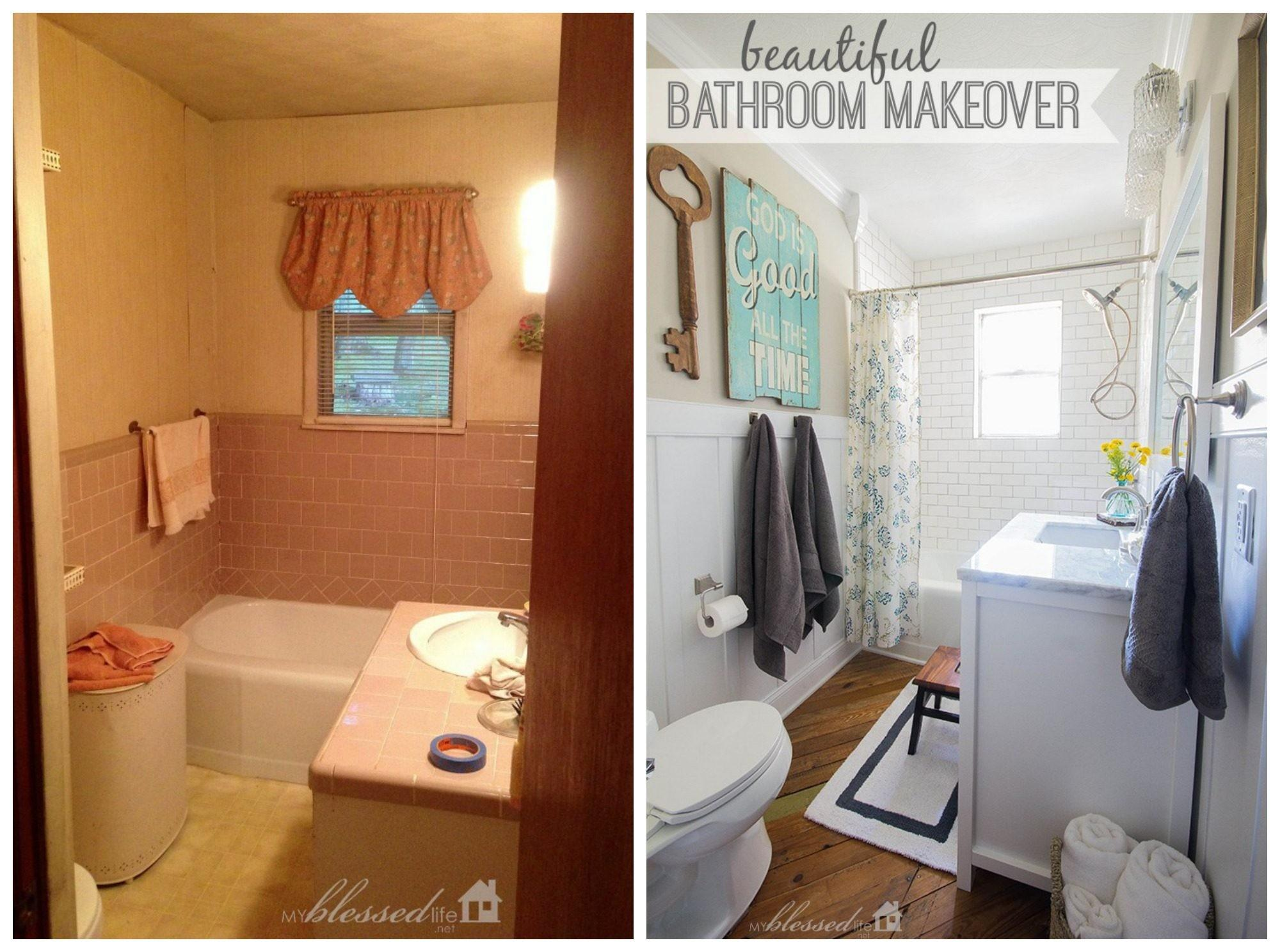 Bathroom Renovation Before After Trends