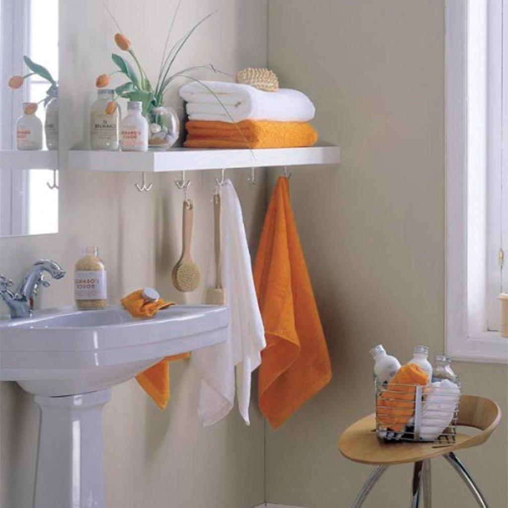 Bathroom Shelving Ideas Towels