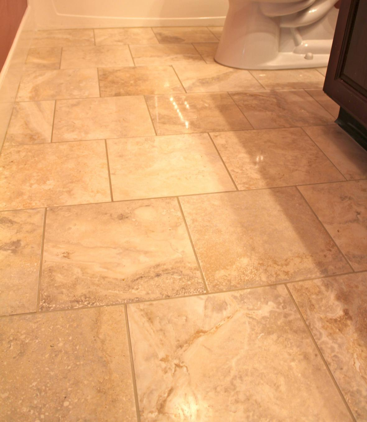 Bathroom Tile Floor Ideas Decobizz