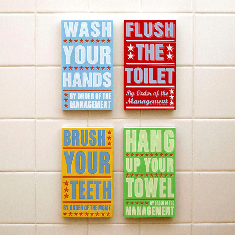 Bathroom Wall Art Decorating Tips Inoutinterior