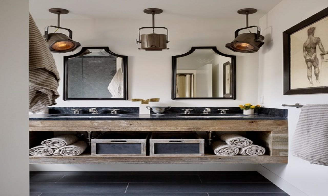 Bathroom Wall Mount Cabinets Industrial Style