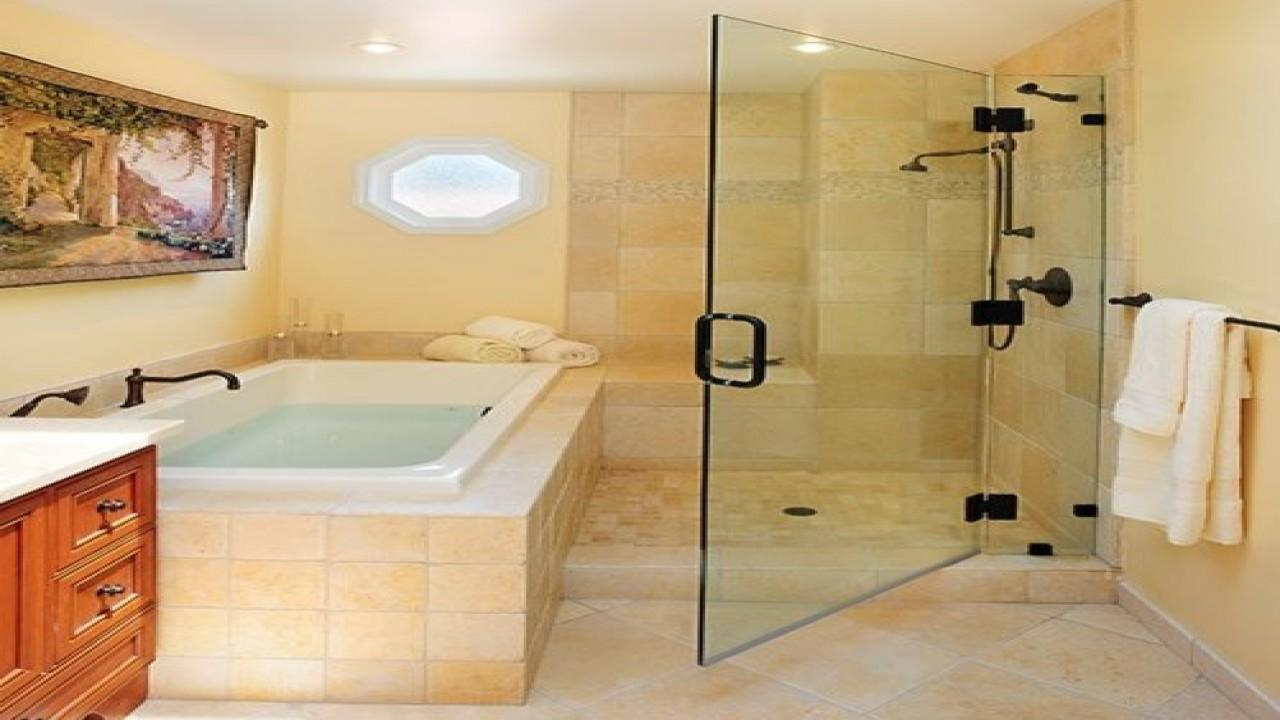 Bathtub Shower Combo Design Ideas Sitting