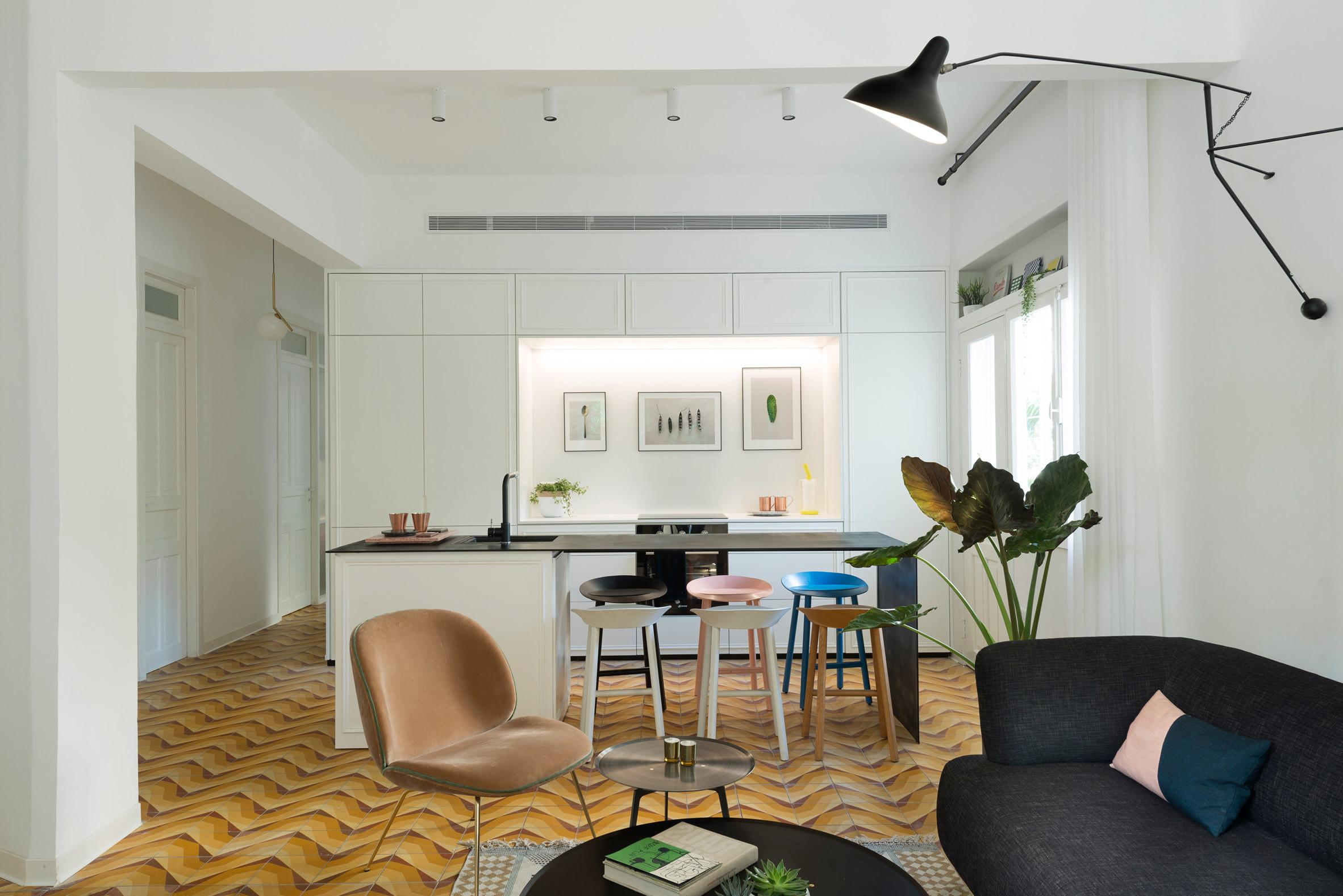 Bauhaus Apartment Tel Aviv Renovated Highlight Its