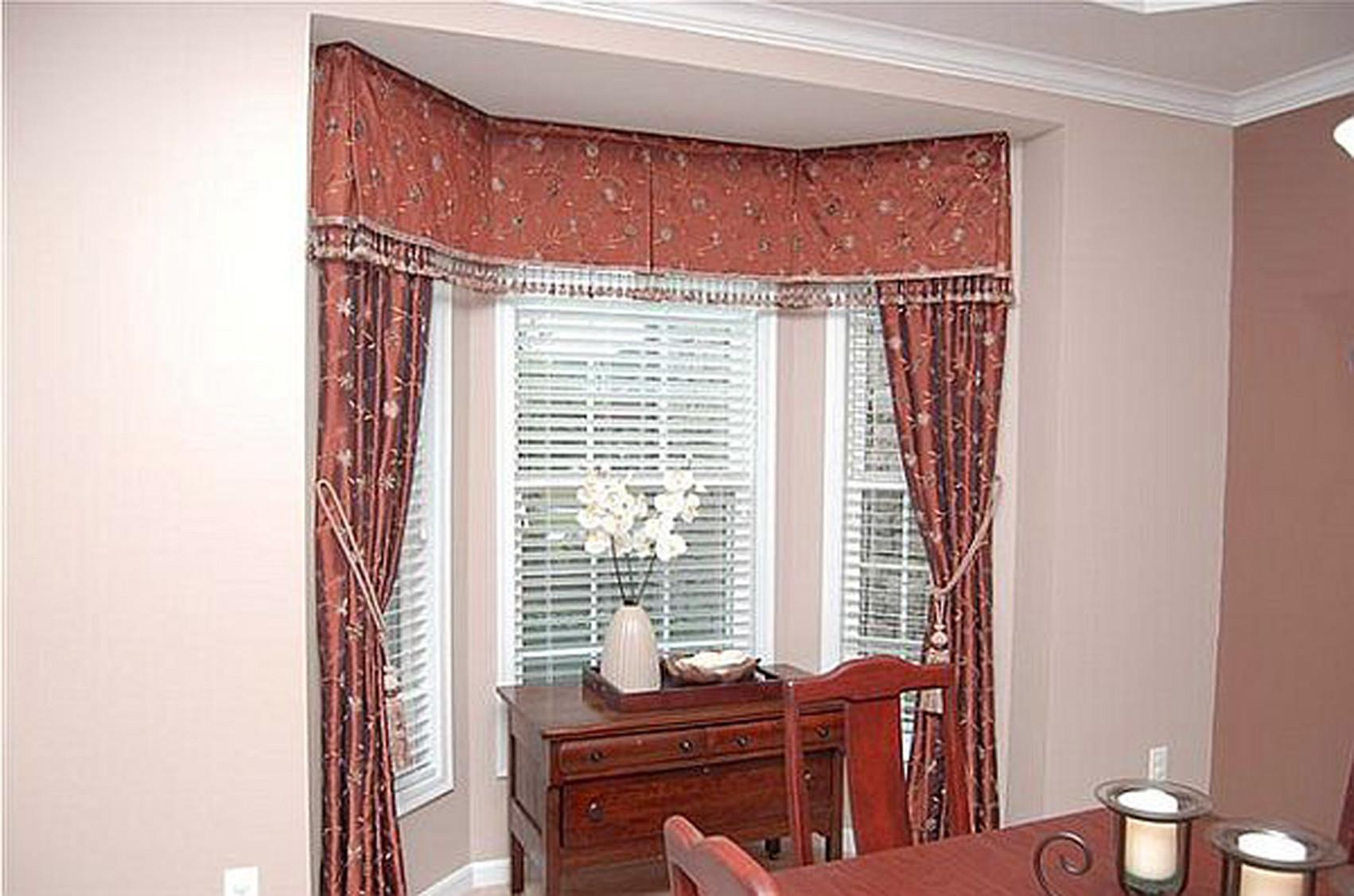 Bay Window Rods Blinds Ideas Curtains