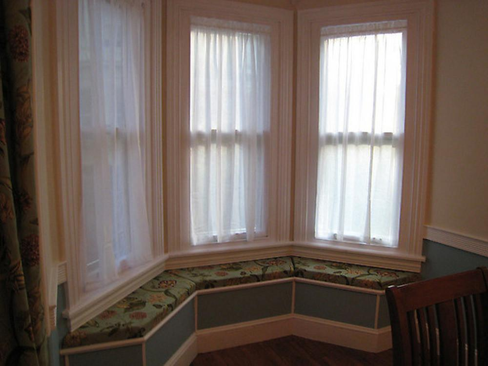 Bay Window Seat Carpentry Joinery Job Lincoln