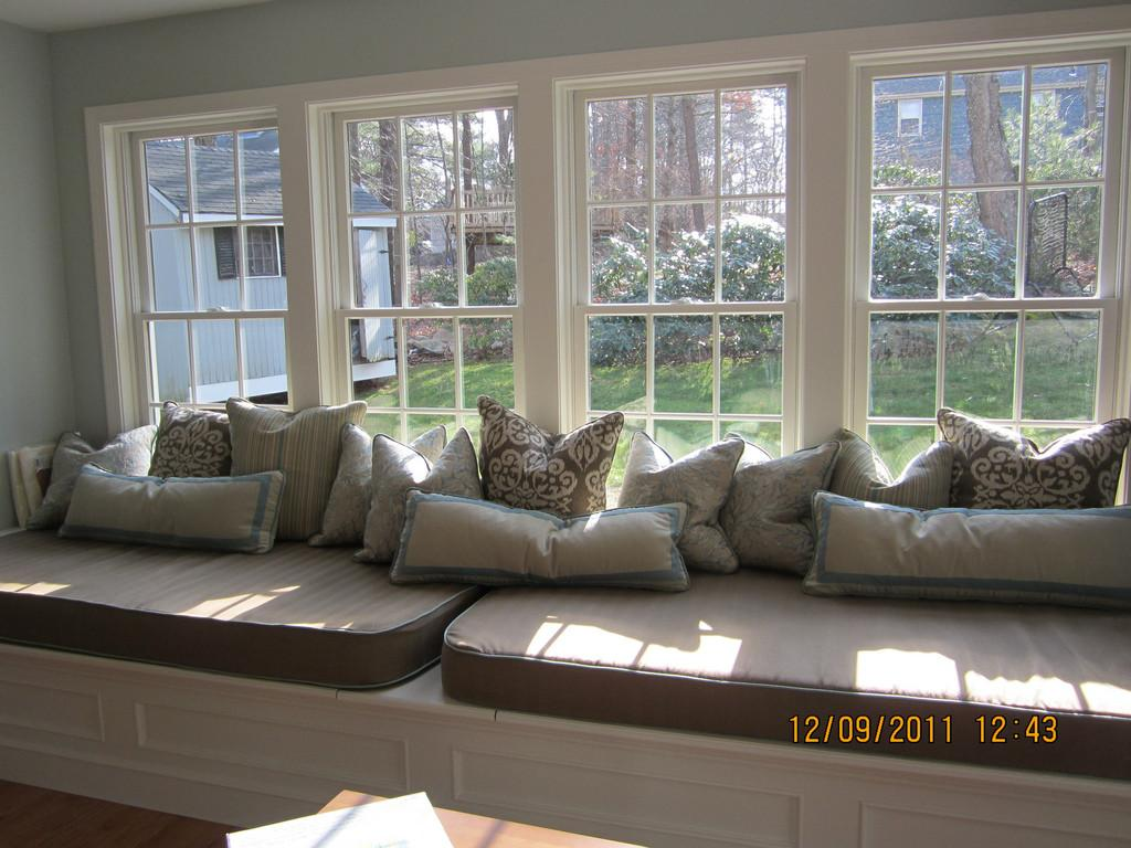 Bay Window Seat Cushions Misc Pillows Large