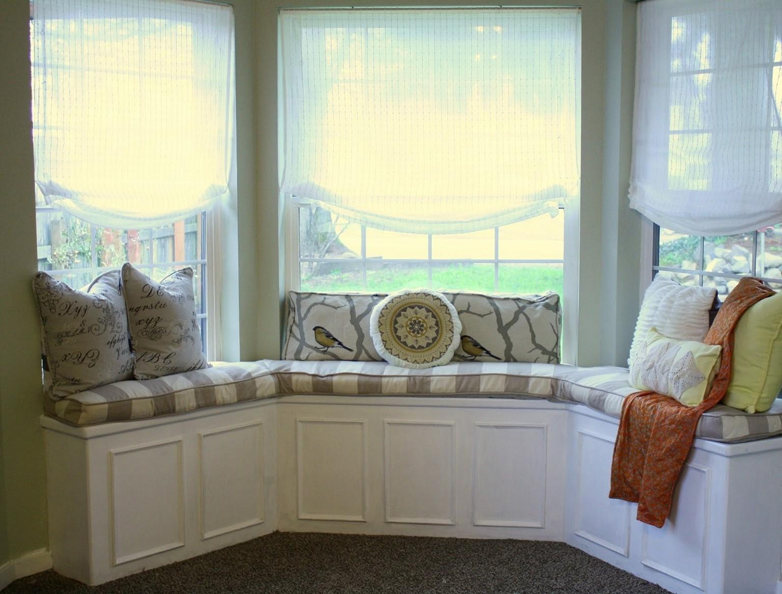 Bay Window Seat Storage