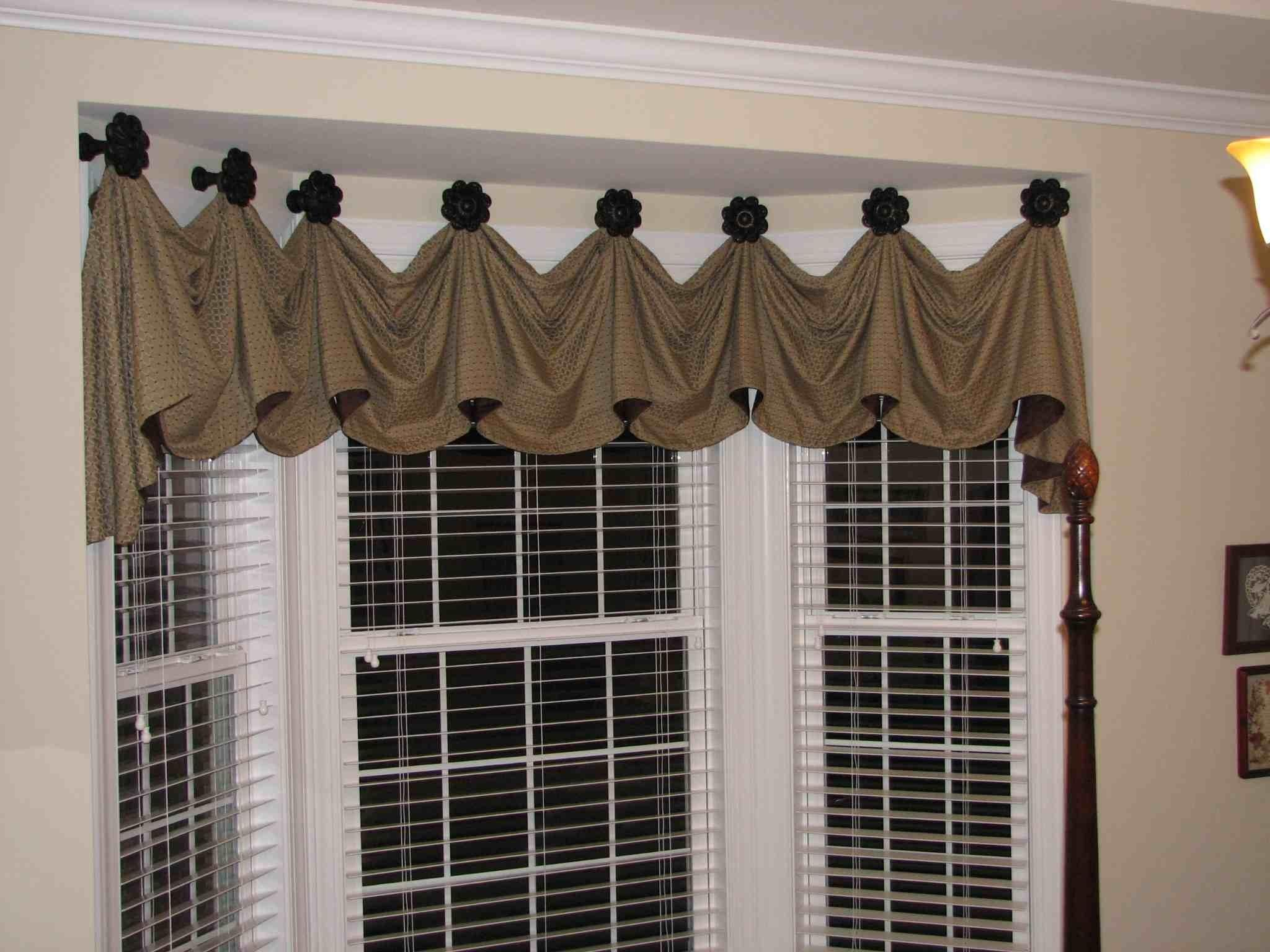 Bay Window Valance Distinctive Designs