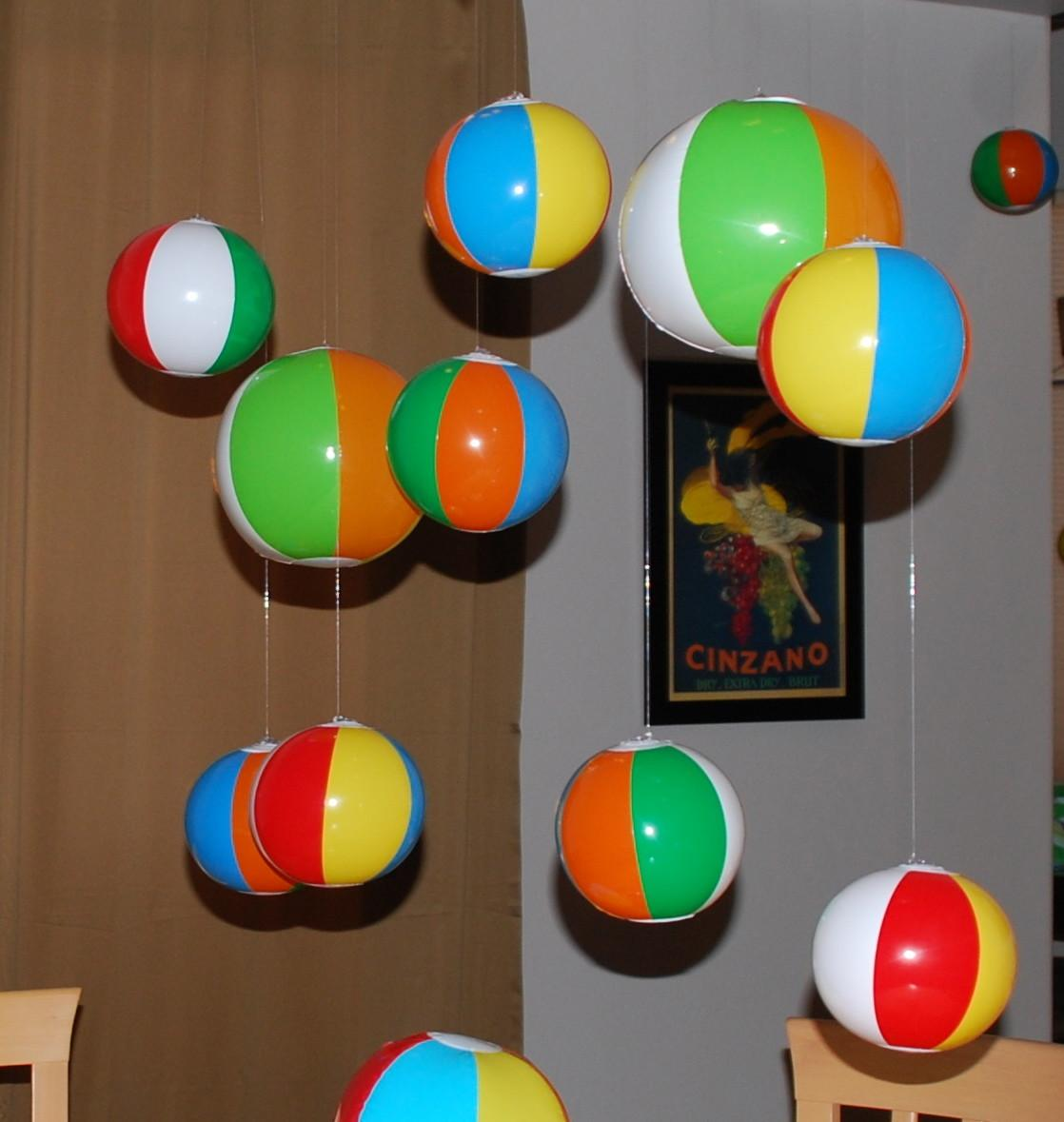 Beach Ball Arch Crafts
