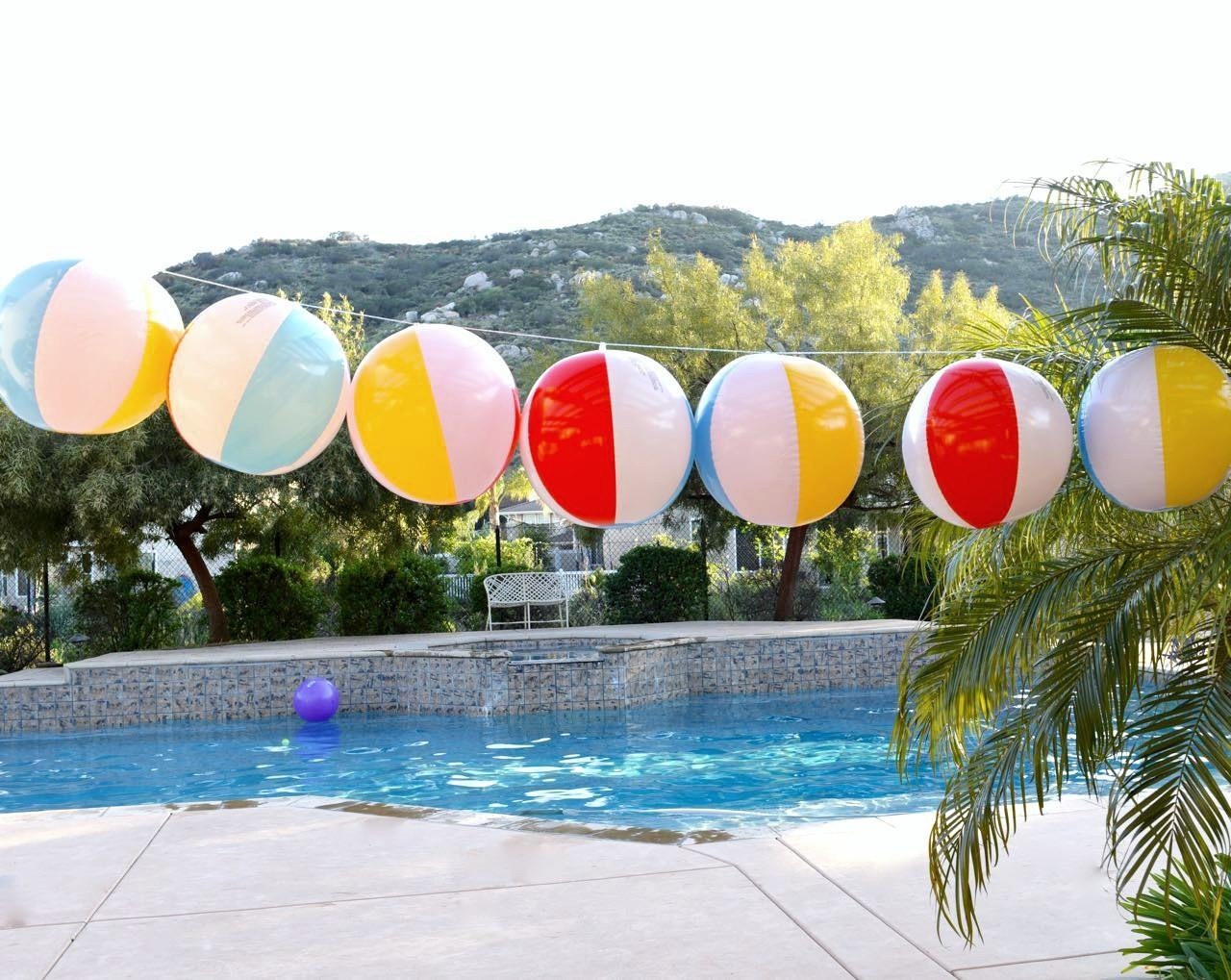 Beach Ball Garland Diy Make Life Lovely