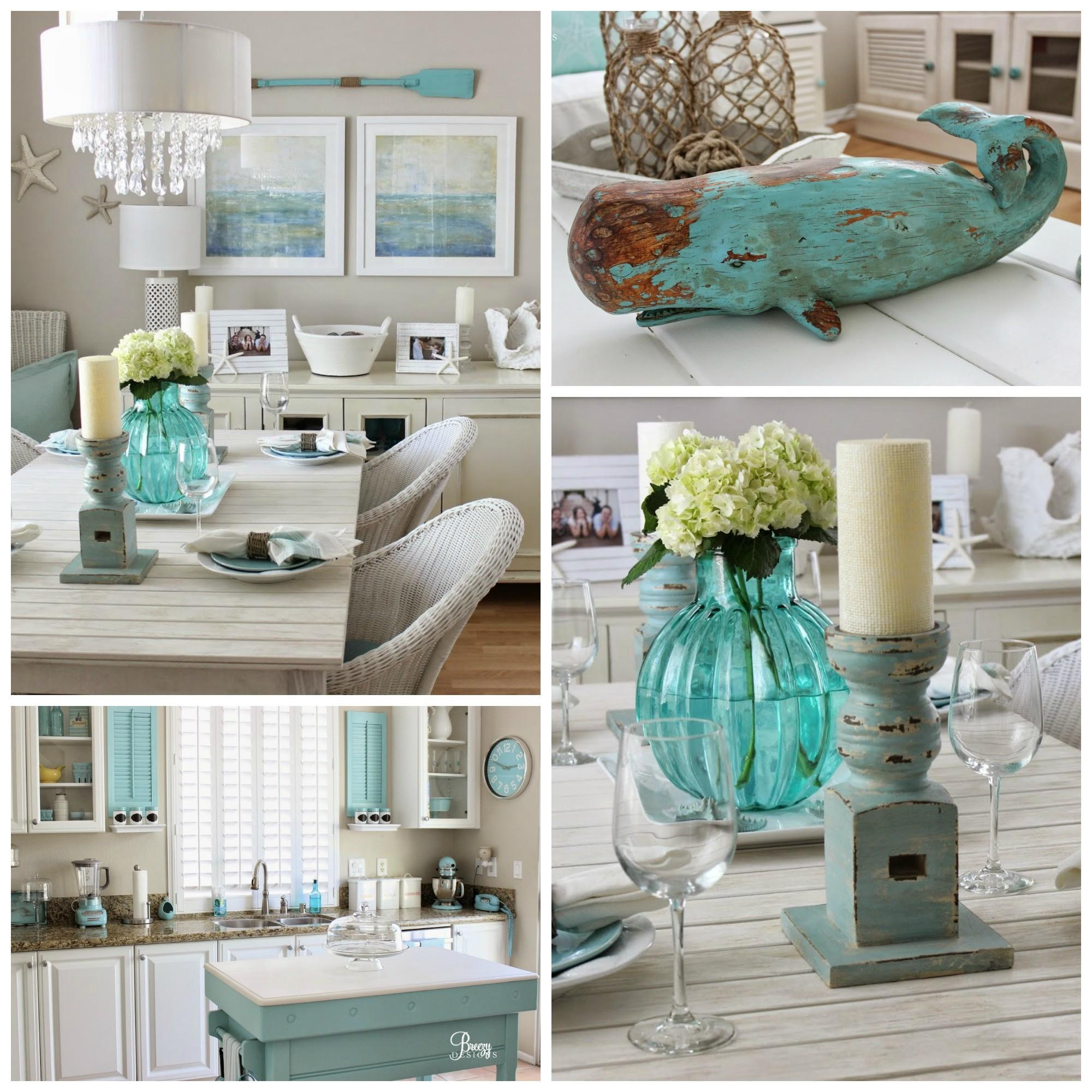 Beach Chic Coastal Cottage Home Tour Breezy Design