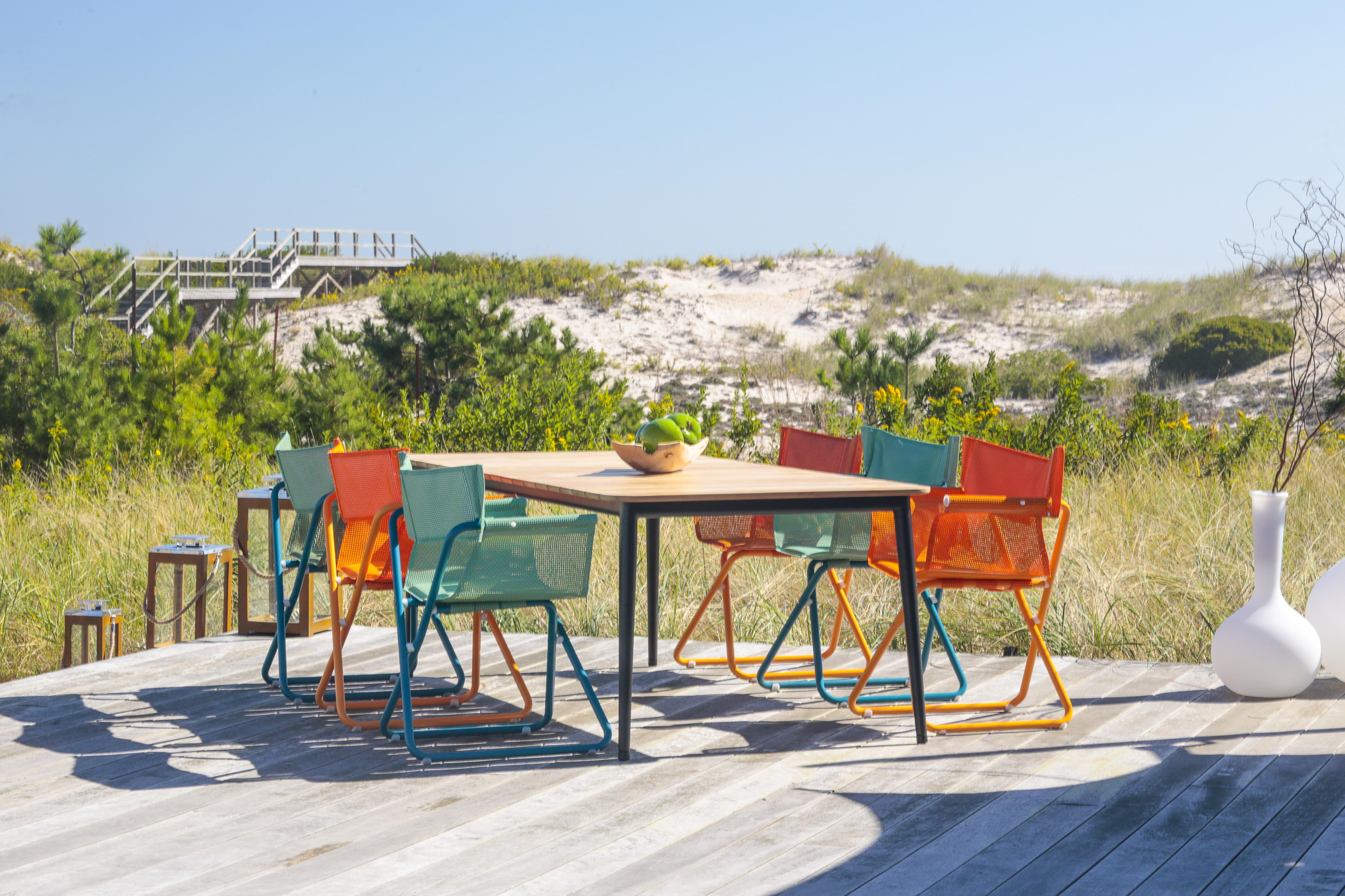 Beach Director Chair Modern Dining Couture Outdoor
