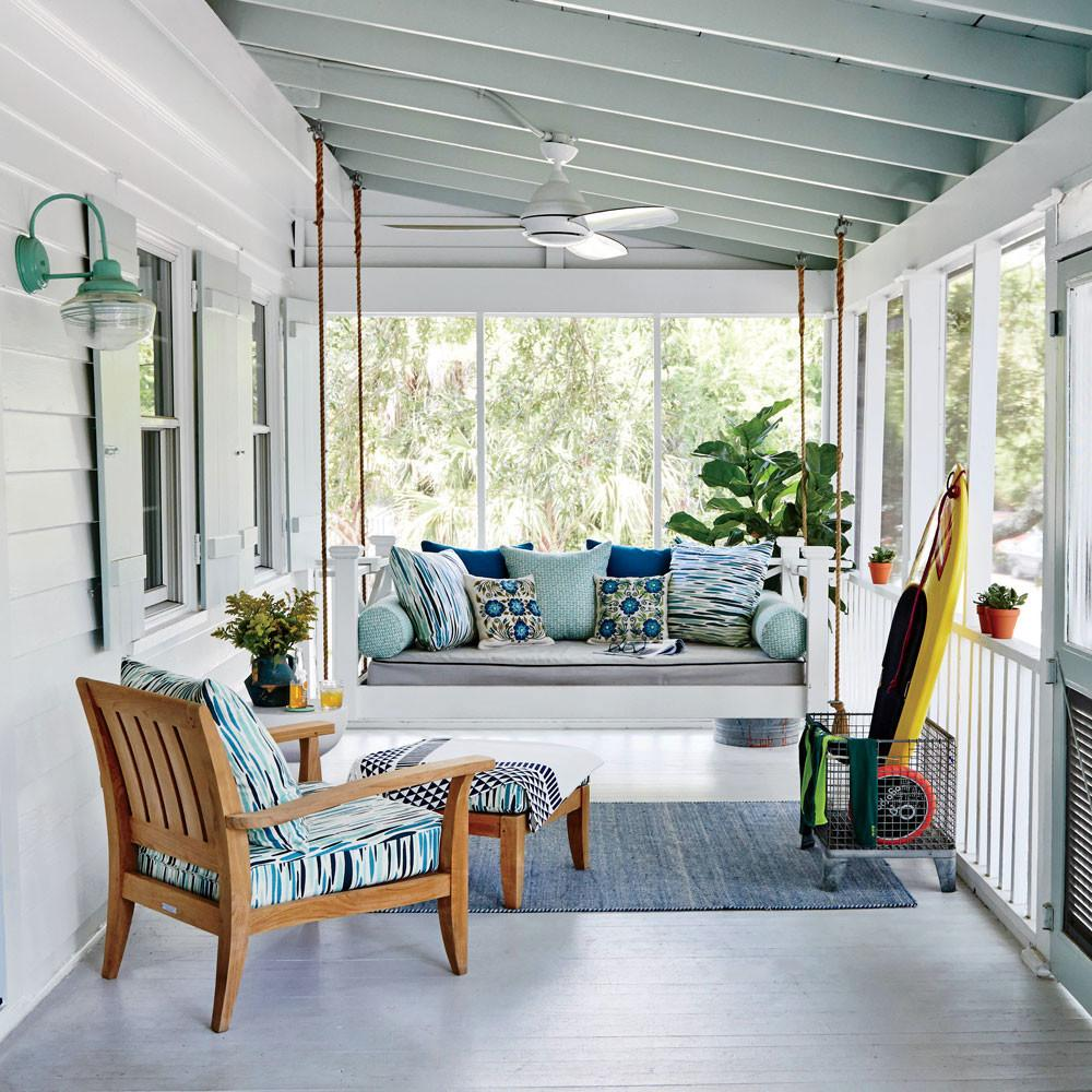 Beach House Decorating Ideas Coastal Living Intended