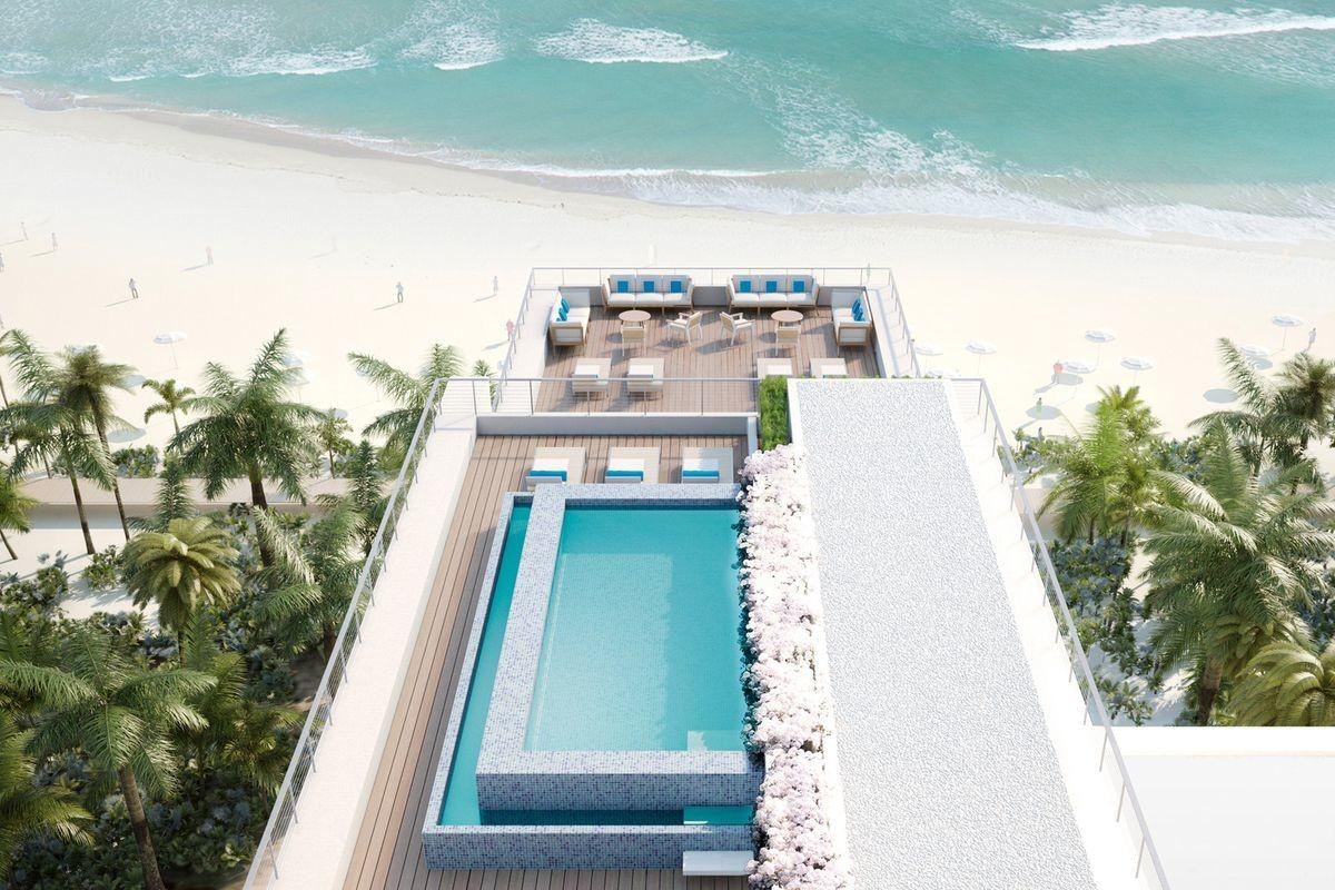 Beach House Penthouse Miami Sells 14m