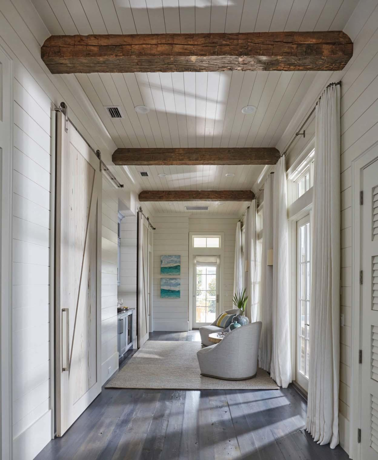 Beach House Watercolor Offers Dreamy Sea Inspired Accents