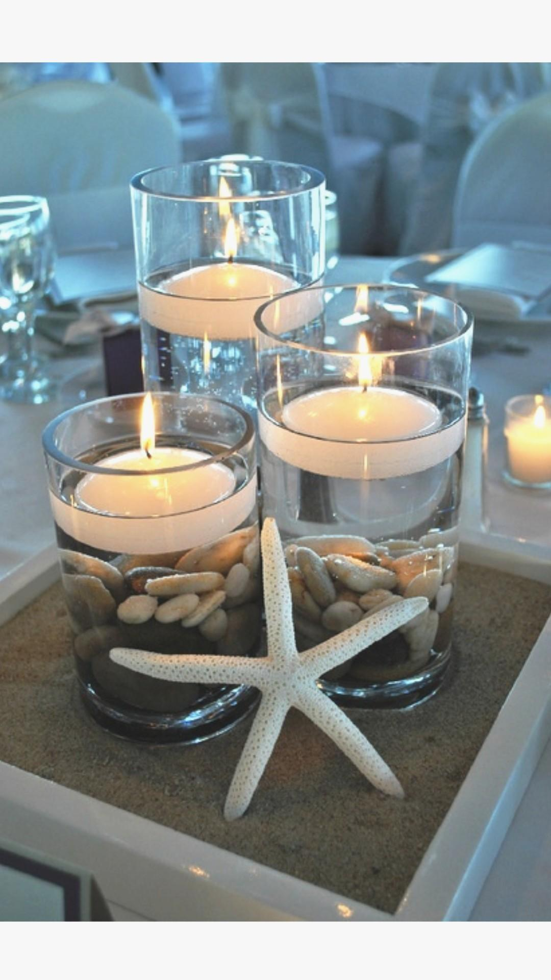 Beach Table Decorations Wedding Best