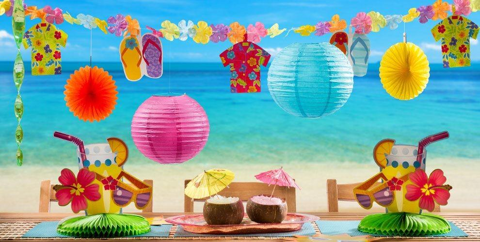 Beach Theme Party Decorations All Home Decor Ideas