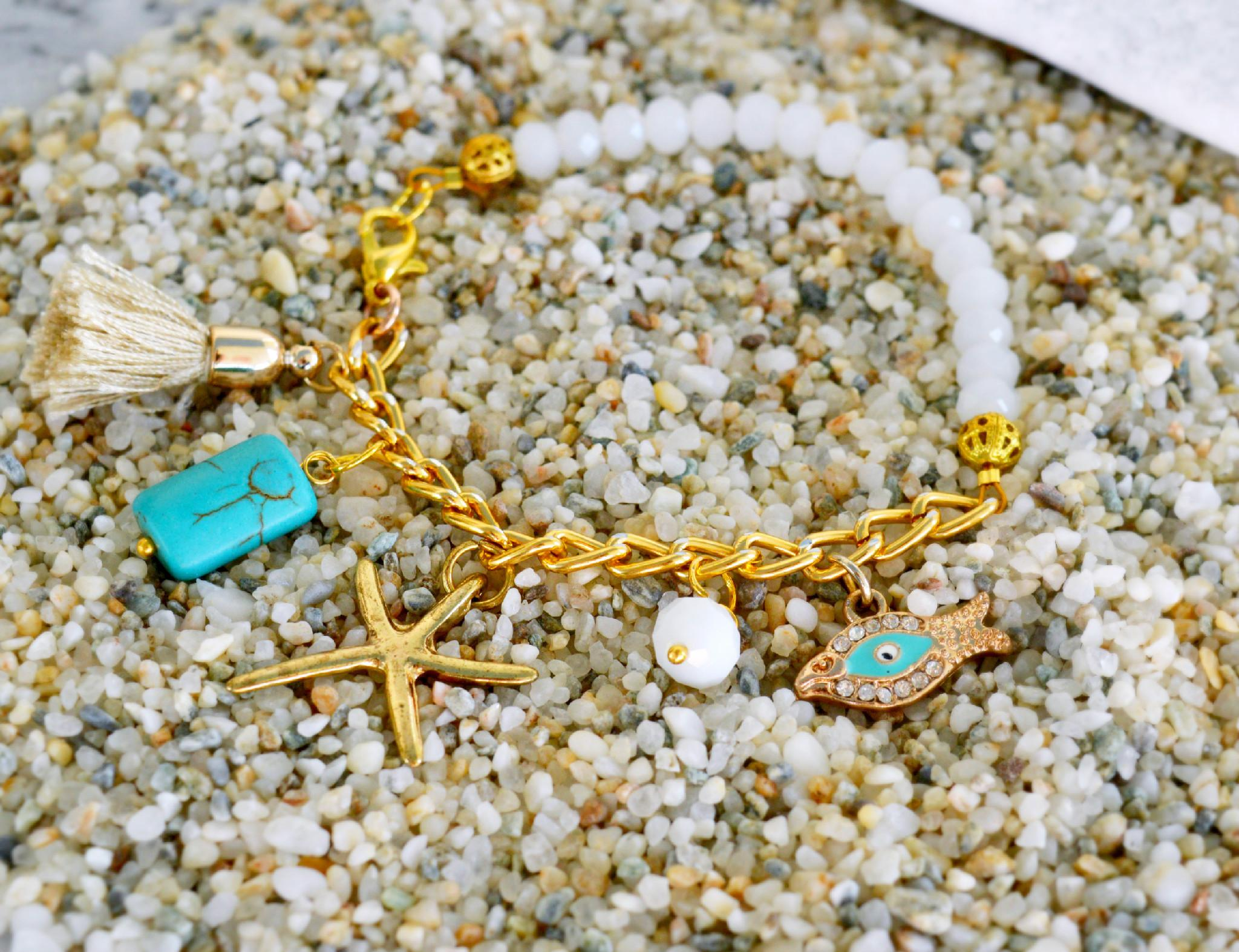 Beach Themed Charm Bracelet Diy Pandahall Beads