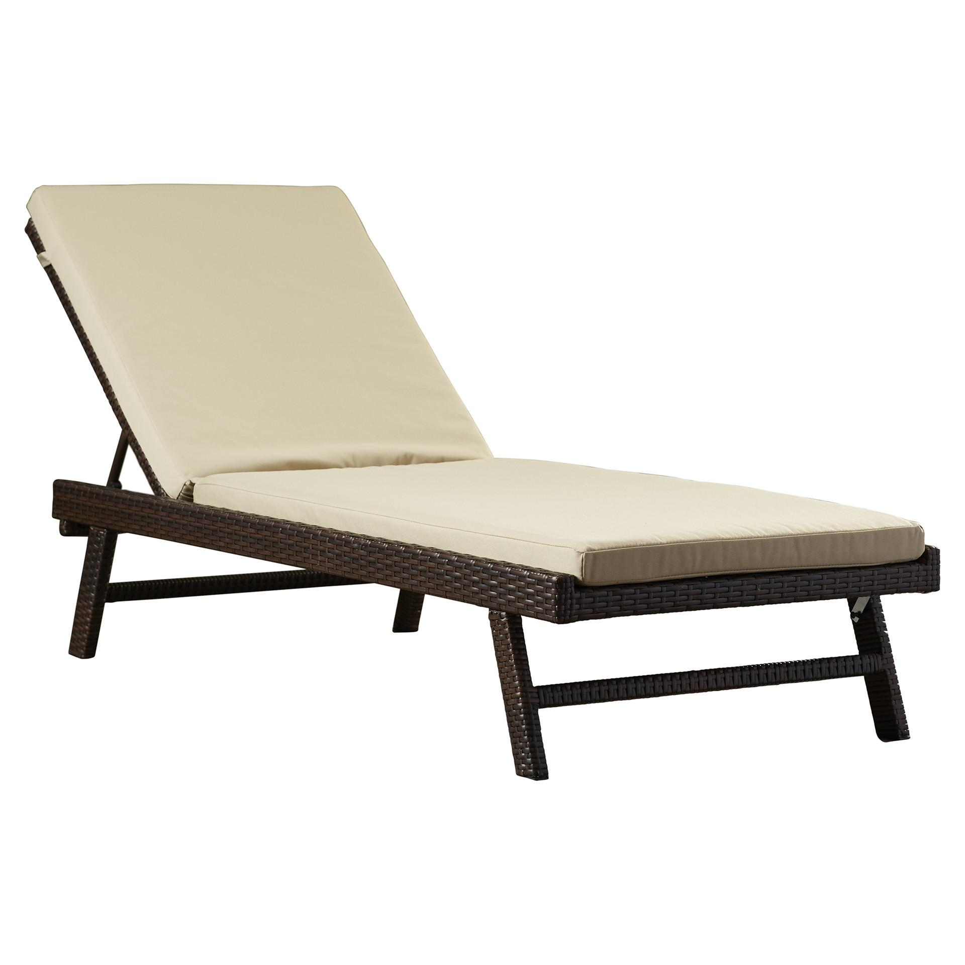 Beachcrest Home Calypso Chaise Lounge Cushion