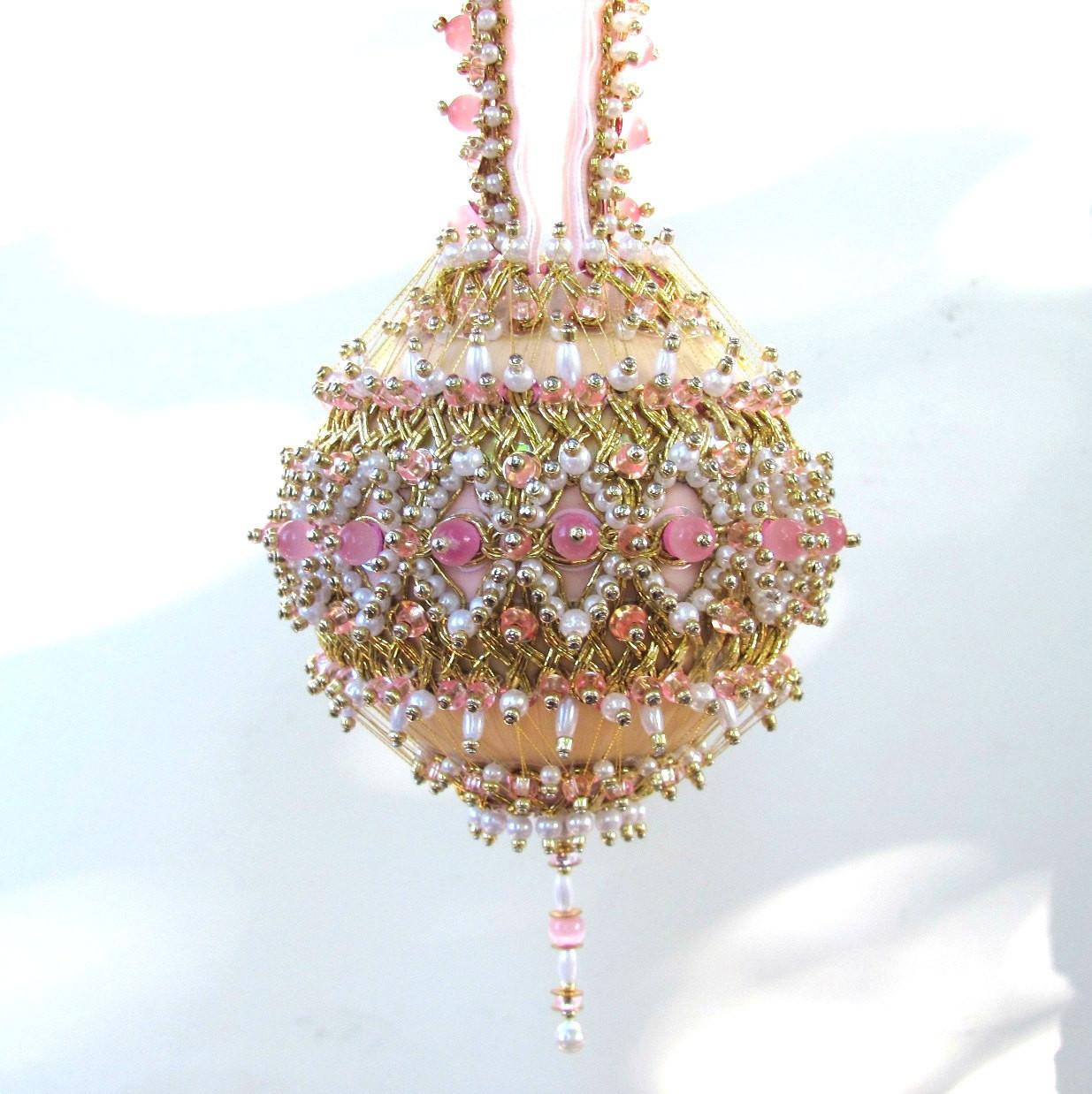 Beaded Christmas Ornament Kit Elizabeth