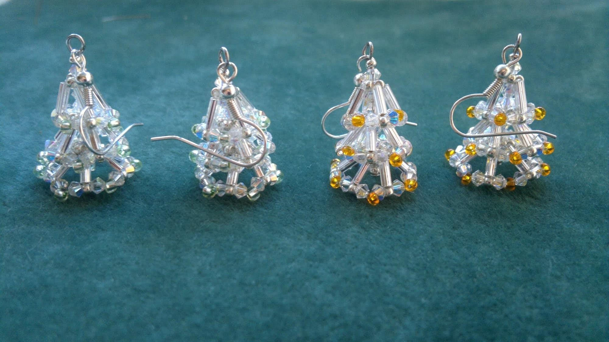 Beading4perfectionists Christmas Tree Earring Video
