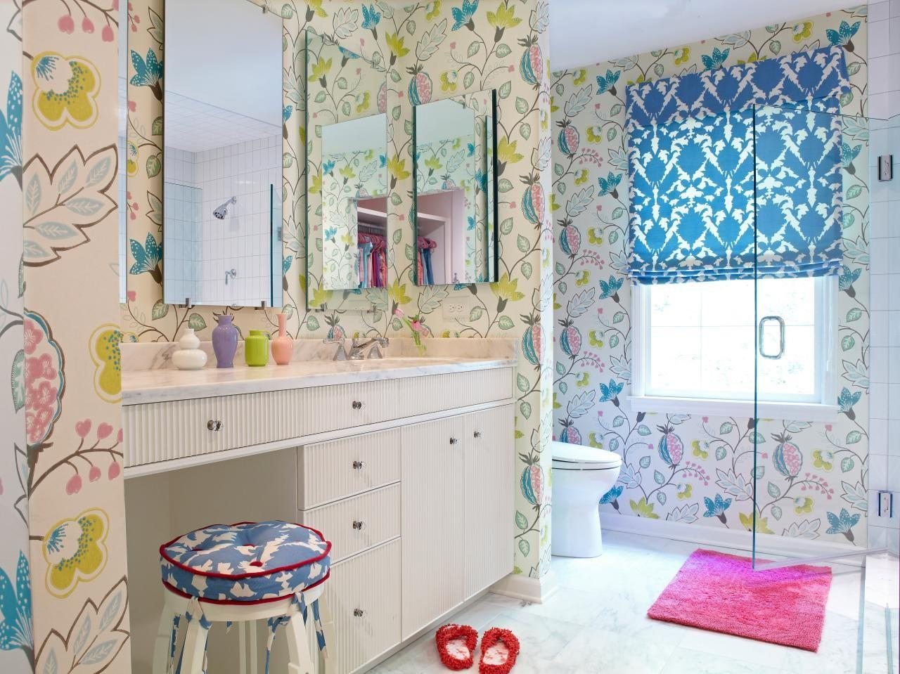 Beauteous Interior Design Cute Girls Bathroom Ideas