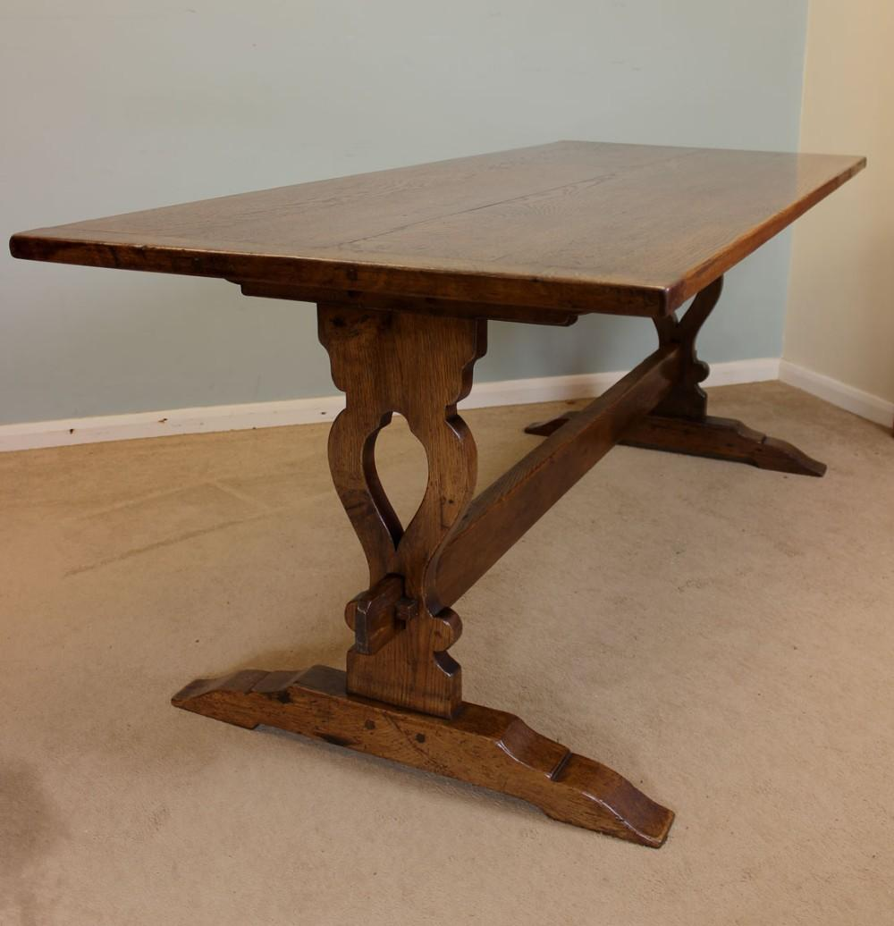 Beautiful Antique Oak Dining Table Additional Home