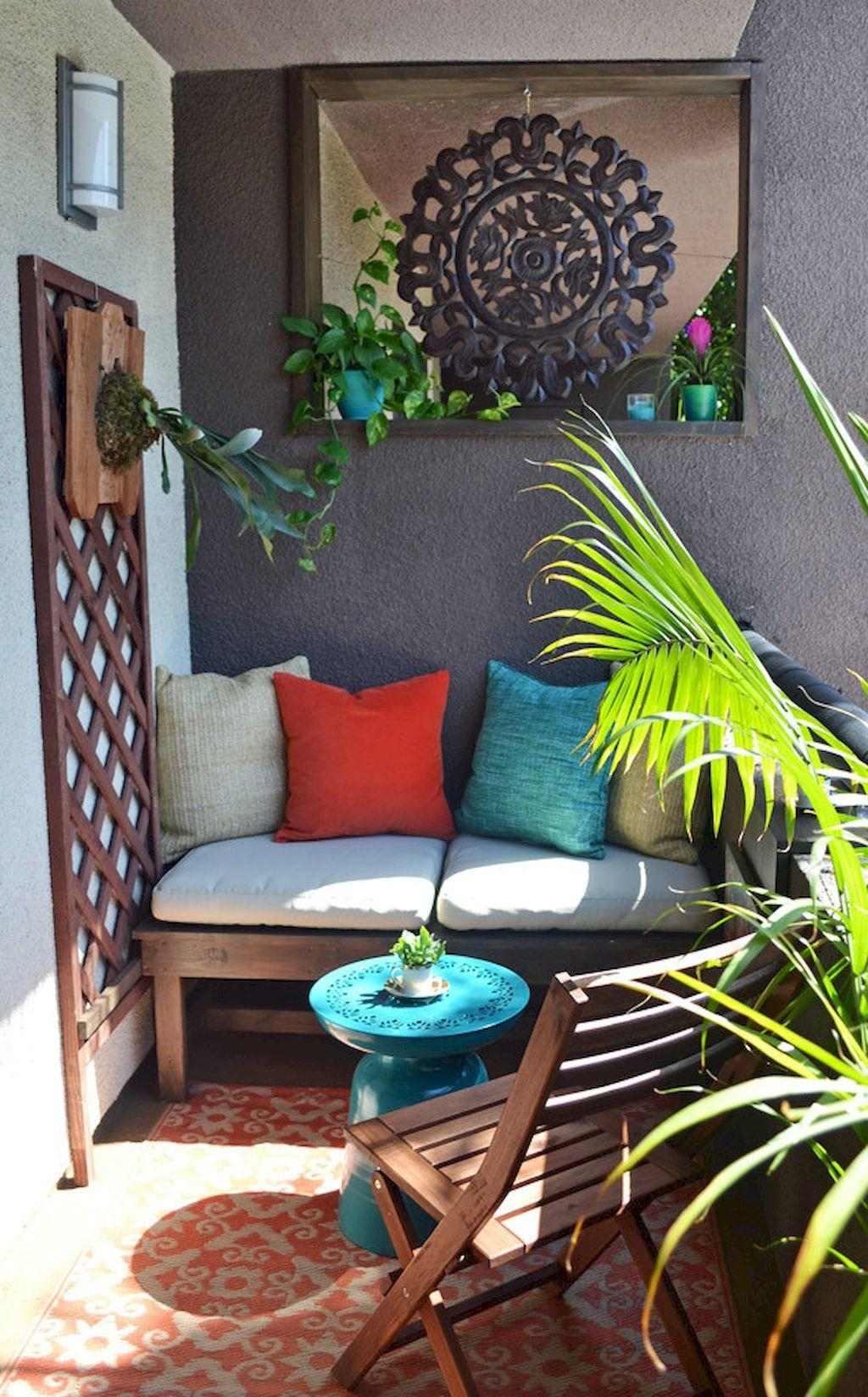Beautiful Balcony Decorating Ideas Livinking