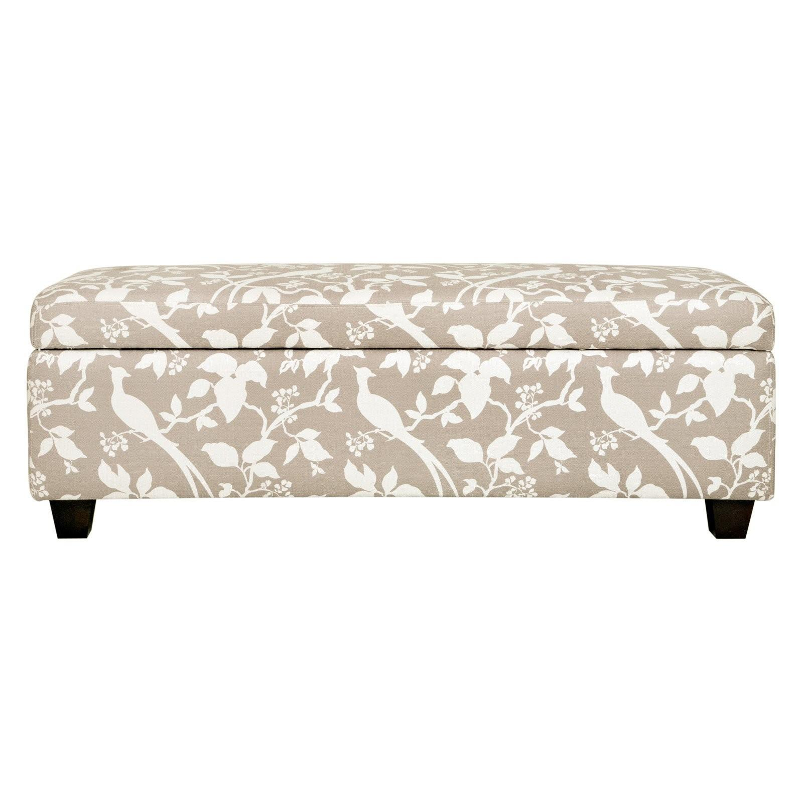 Beautiful Bedroom Ottomans Benches Inspiring Furniture