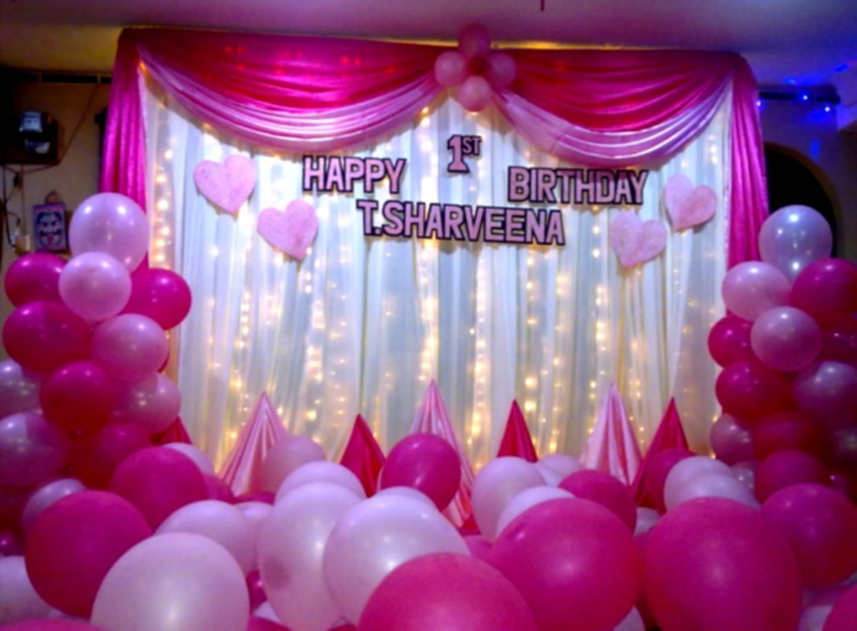 Beautiful Birthday Party Decoration Ideas Hom Furniture