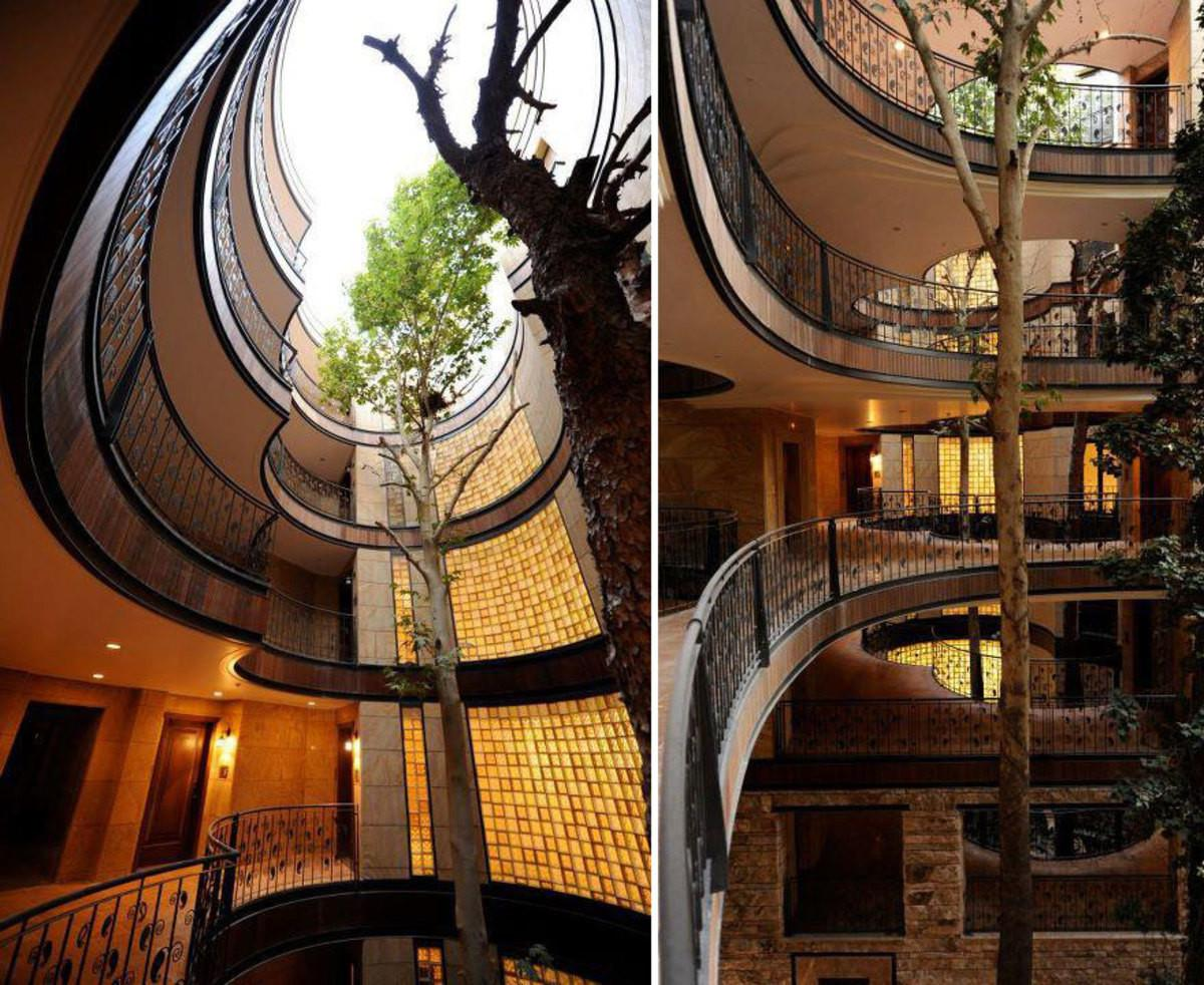 Beautiful Buildings Have Incorporated Tree