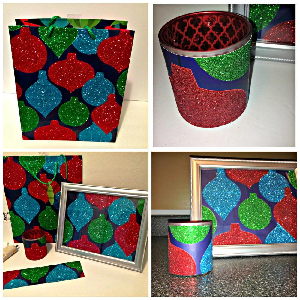 Beautiful Christmas Gifts Recycled Gift Bags