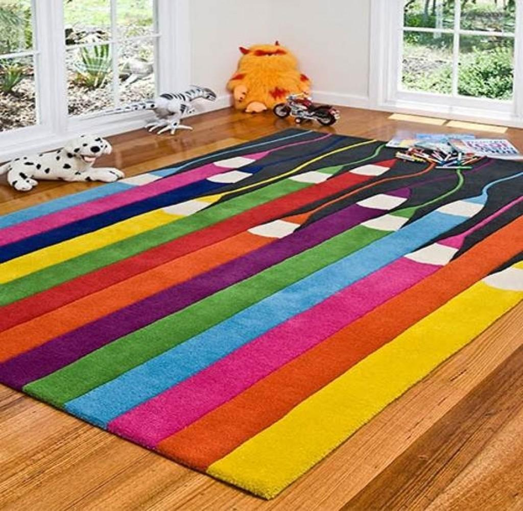 Beautiful Colorful Kids Area Rug All Rugs