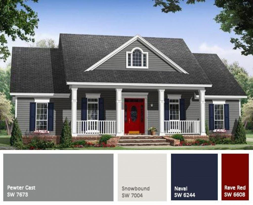 Beautiful Colour Combination House Exterior Painting