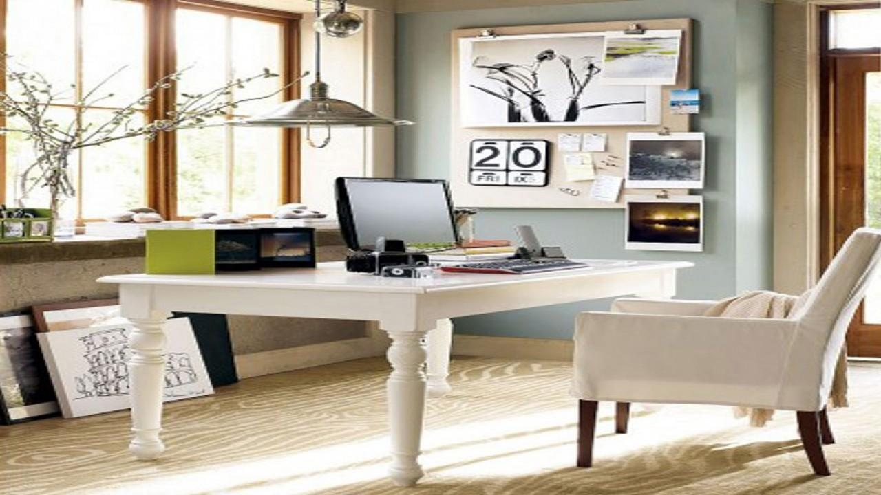 Beautiful Contemporary Small Home Office Design Trends