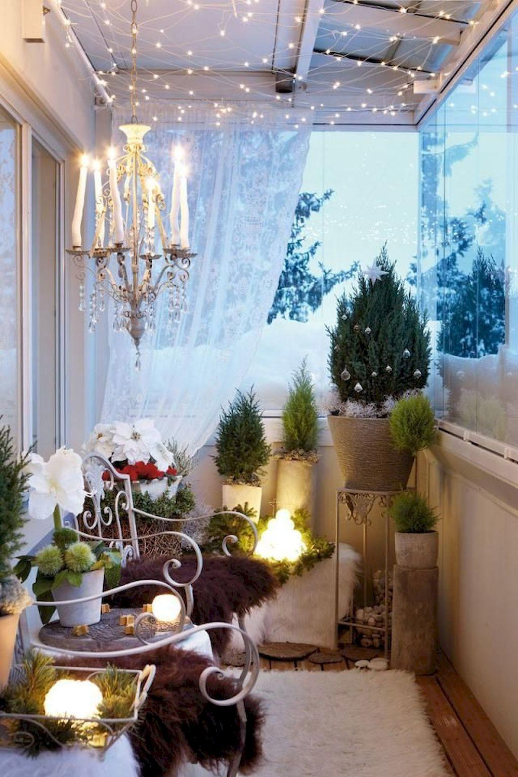 Beautiful Cozy Apartment Balcony Decor Ideas